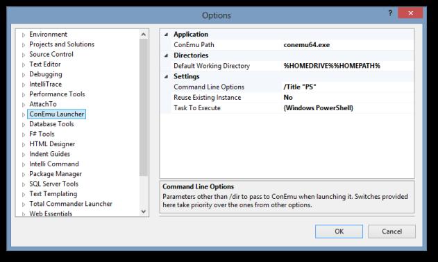 ConEmu Launcher - Visual Studio Marketplace